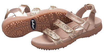 Sandbaggers Golf Shoes: Tracie Rose Gold