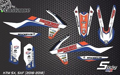 SXF 450 SX-F 250 2016 KTM motocross graphics decals MX graphic kit stickers SX