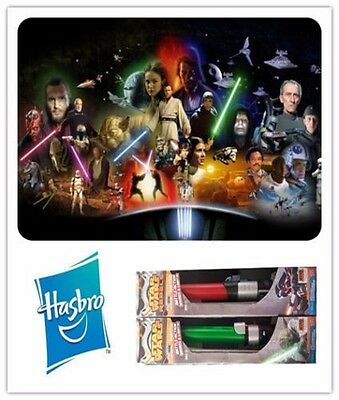 1Pc Hasbro Star Wars Darth Vader Yoda Electronic Lightsaber Sound Lights Kid Toy