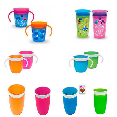 Munchkin 360° Miracle Sippy/mobility Cup - FREE UK DELIVERY!!!