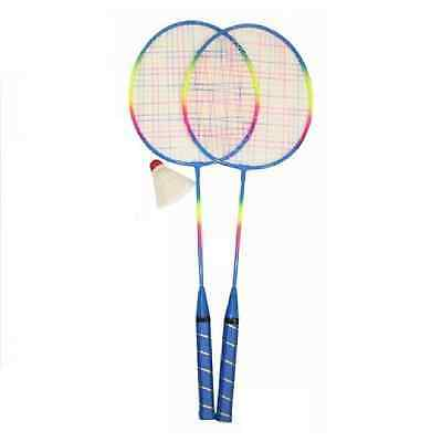 Badminton Set Outdoor Games Bat Shuttle Cock MY Racket Sport 2 Player Garden Toy