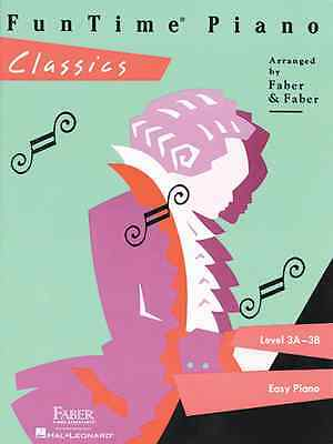 FunTime Jazz /& Blues Level 3A-3B Faber Piano Adventures Book NEW 000420119