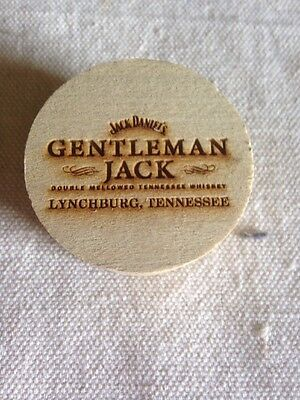 Jack Daniels Tennessee Whiskey Wooden Whiskey Barrel Cork Gentleman Jack