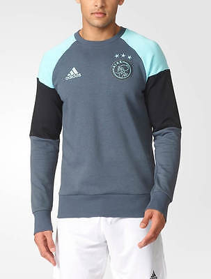 Sweat TOP Ajax Amsterdam Adidas Formotion Training Sweatshirt Felpa Gris 2016 1