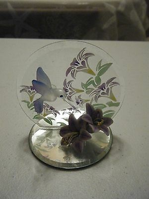 Hummingbird Glass Figurine 3 X 2.5