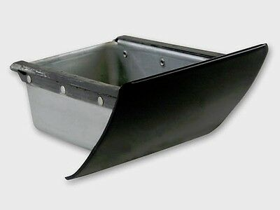 New! 1964-1966 Mustang Dash Mount Ash Tray Painted Black with correct zinc plate