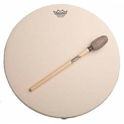 "Remo 14"" Buffalo Synthetic Skin Drum (With Comfort Sound Technology)"