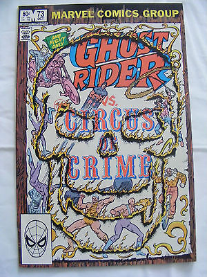 Ghost Rider # 73 Oct 1982 Marvel Comics