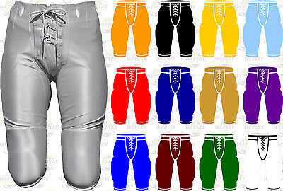 Alleson Athletic Youth Boys Dazzle Game Football Pants W/O Pads 640BSL
