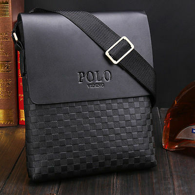 Borsello uomo tracolla POLO VIDENG Ipad Iphone fashion bag messenger