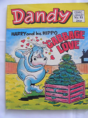 "Dandy Comic Library #83 Harry & his Hippo ""Cabbage Love"""