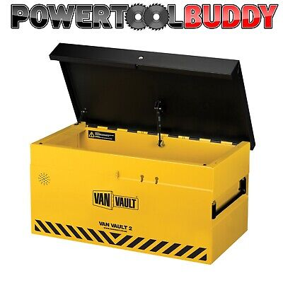 Van Vault 2 S10250 Tool Site Security Box Comes With Security Cable