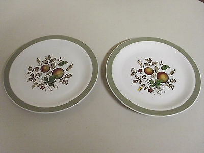 Lot Of 2 Alfred Meakin Hereford Salad Plates 7 Inches