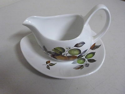 Midwinter Stylecraft Gravy Boat And Underplate Staffordshire England