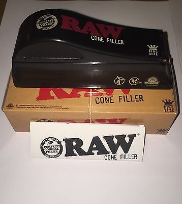 RAW 7x11 Tray & RAW PAPER KING SIZE CONE FILLER Bundle With Tray & 3 Cones