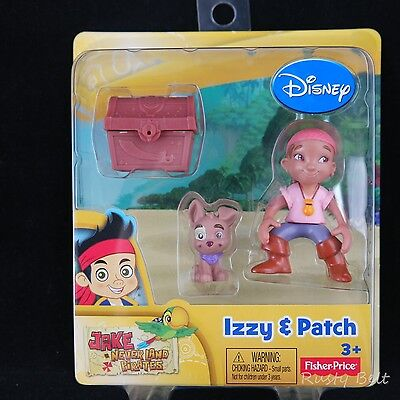 Disney Izzy & Patch Fisher-Price Jake Never Land Pirates Toy Figures