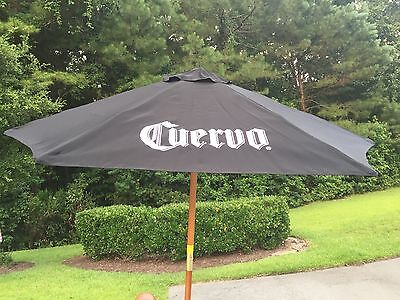 Jose Cuervo Tequila Black Patio Umbrella