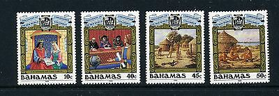 BAHAMAS   MNH    640-43   Discovery of America     DS472