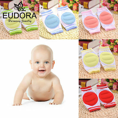 Baby Crawling Knee Pads Kids Children Infant Safety Elbow cushion Protector