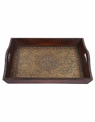 Ikea Serving Tray Tea Coffee Fruit Wooden Breakfast in Bed Gift Antique Vintage