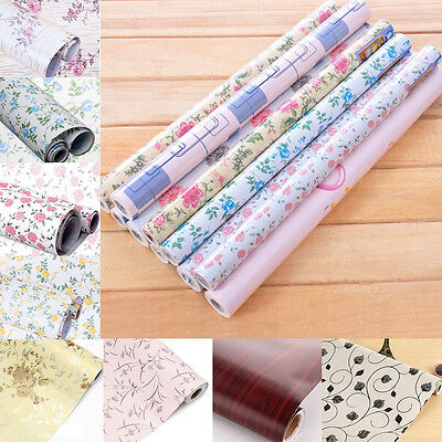 yazi Self Adhesive Drawer Liner Wallpaper Contact Paper Wall Sticker 200x45cm