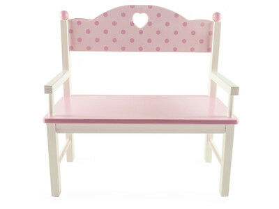 NEW Mamagenius Wooden Doll Bench Chair Dolls Wood Girls Toy 3+