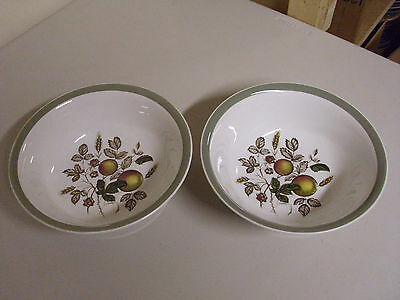 Lot Of 2 Alfred Meakin Hereford Serving Bowls 8 3/8 Inches
