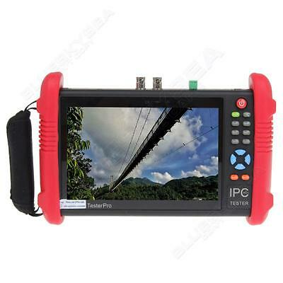 "IPC-9800 7"" Touch Screen POE ONVIF IP+Analogy Camera Test CCTV Monitor Tester"