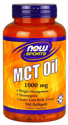 Now Foods Sports MCT Oil 1000 mg 150 Softgels