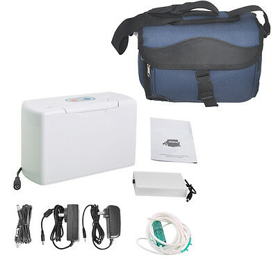Portable Oxygen Concentrator Generator Rechargeble Battery+ 2 year warranty New