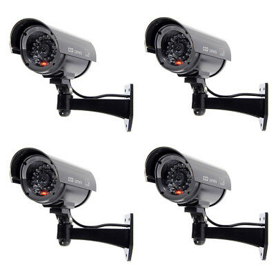 PhotR Dummy Camera CCTV Security Surveillance Cam Fake Red IR LED Outdoor Indoor