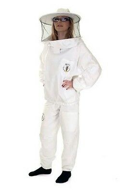 BUZZ Beekeepers Bee Tunic / Jacket with round veil and Trousers set   All sizes