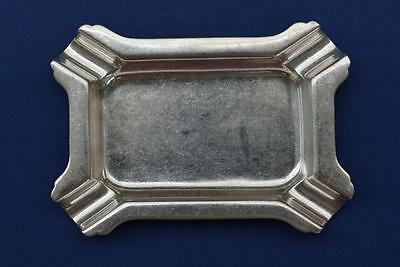 Solid Hallmarked Silver Ashtray B'ham 1961 31.2g's