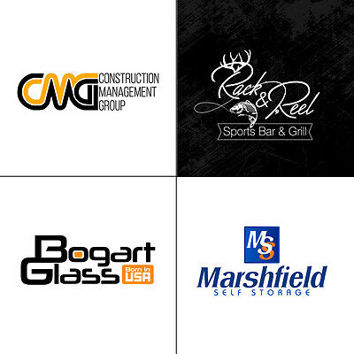 Professional Premium Custom Logo Design - Vector File - Unlimited Revisions