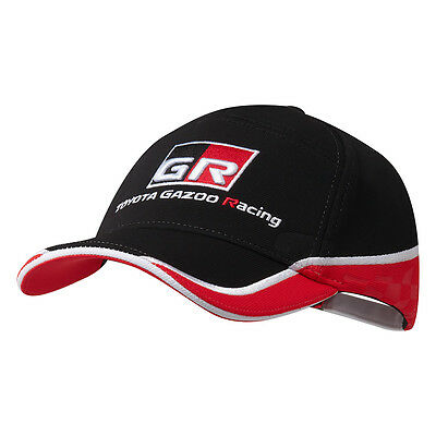 Toyota Gazoo Racing WEC Team Cap Red Black Hat Headwear