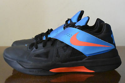 bc87d03e8949 NIKE ZOOM KEVIN DURANT KD IV 4 CREAMSICLE ORANGE PHOTO BLUE WHITE ...
