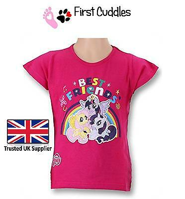 Official Kids Childrens Girls My Little Pony T-Shirt  -  Mlp Officially Licenced