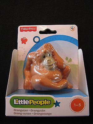 Fisher-Price Little People Orangutan Orang-outan Zoo Animal