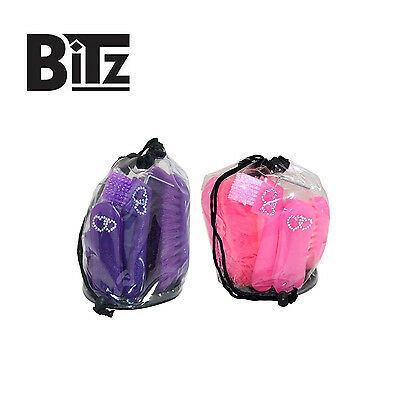 Bitz Glitter Grooming Kit With Crystal Hearts - Six Piece