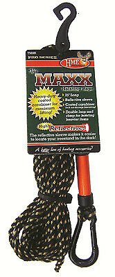 HME Products Maxx Hoisting Rope  25 Foot with Carabiner Clasp TMHR