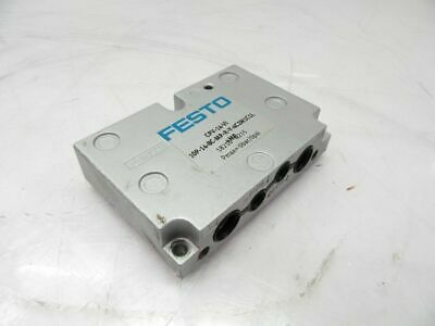 CPV-14-VI 10-14-8C-MP-R-Y-4C2M1C1L Festo Manifold (Used and Tested)