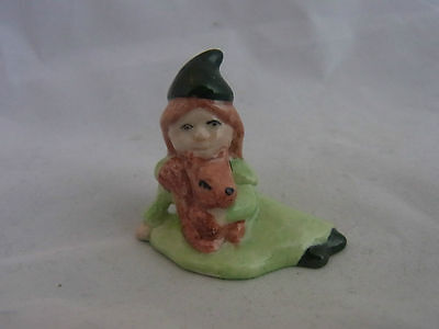 Wade Whimsie Girl Leprechaun Green Hat