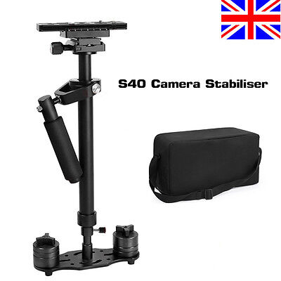 S40 Aluminum Handheld Gimbal Stabilizer Steadicam for Nikon Canon Camera DSLR UK