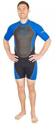 Storm Men's 2mm Snorkel/Scuba/Water Sports Shorty Diving Wetsuit - XXXX-Large
