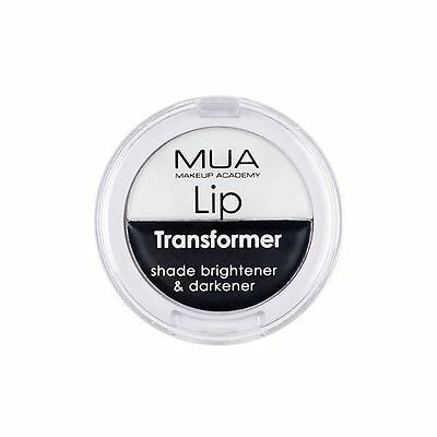 MUA 'LIP TRANSFORMER' 2 in 1 Lipstick Shade Brightener & Darkener Makeup Academy
