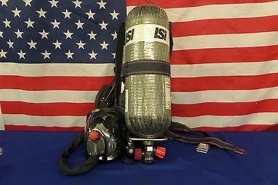 ISI Viking DXL 4.5 High Pressure SCBA Pack 2002 Edition with HUD's