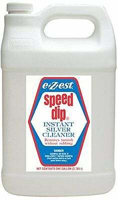 E*Z*EST Speed Dip Instant Silver Cleaner & Tarnish Remover  1 Gallon Jug