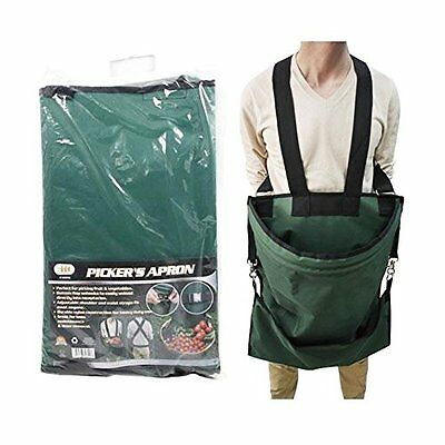NEW Large Pouch Fruit/Vegetable Harvest Picking Apron  Durable Nylon SHIPS FREE