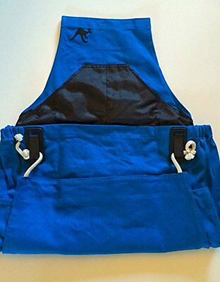 NEW The Roo Gardening and Harvesting Apron Peacock Blue FREE SHIPPING