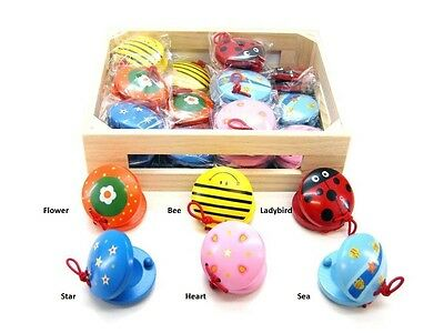 Brand New Wooden Castanets Assort - Great Gift Idea - Price Is Per Castanet